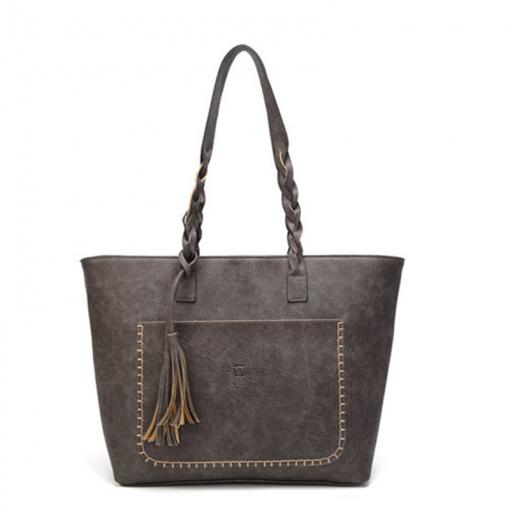 Causal Tassel Shoulder Bag